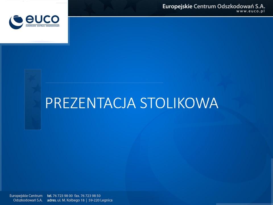 Prezentacja EuCO - stolikowa