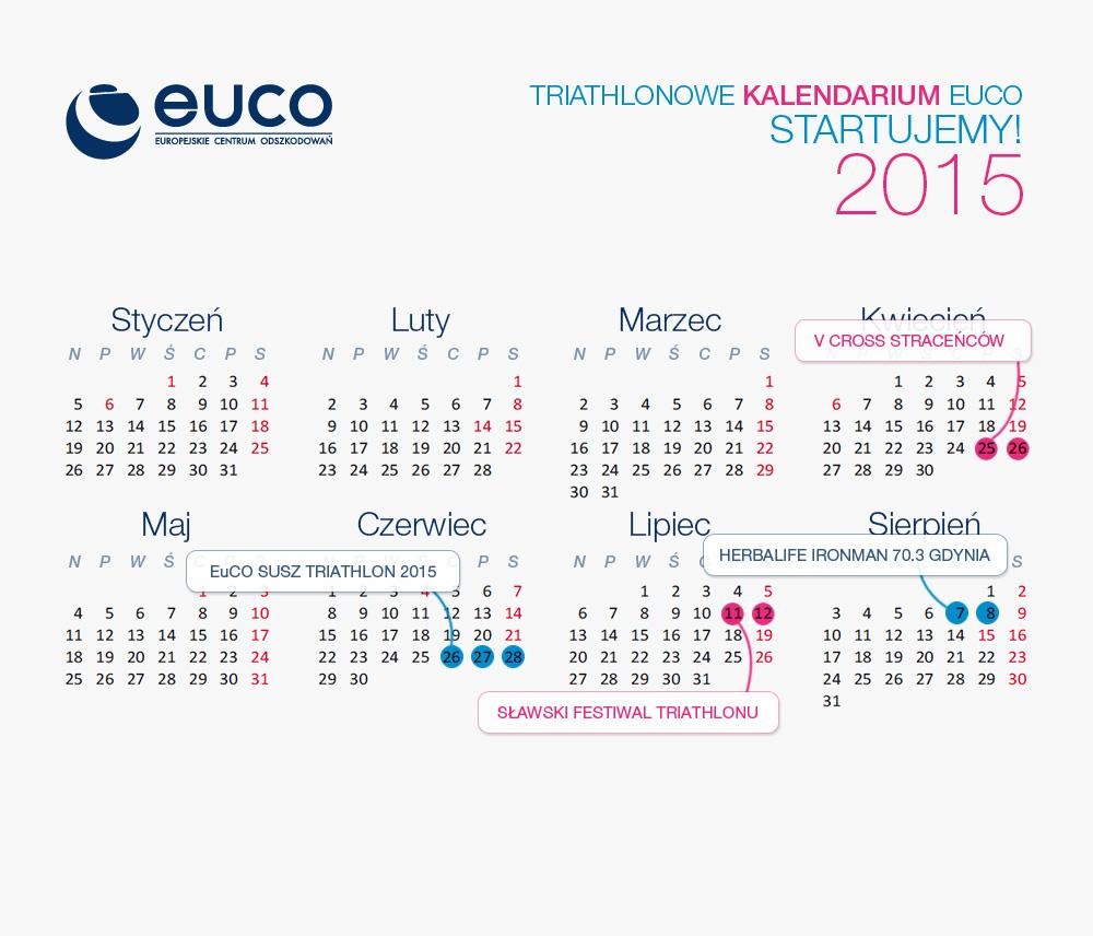 EuCO Kalendarz sportowy 2015