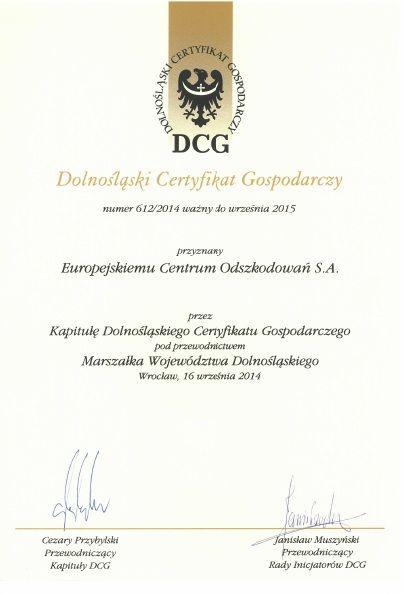 DCG 2014
