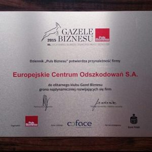 Nagrody i certyfikaty